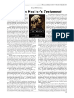 2011 - Brian McClinton - Review of 'Testament' by Jean Meslier