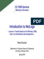 Tutorial Netlogo