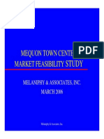 Shopping Mall Feasibility Study