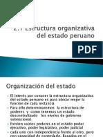 5. Act. 13 Estructura Organizativa Estado Peruano