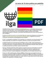 Aciprensa.com-Asociacin Gay Toler Cerca de 10 Aos Poltica Pro Pedofilia