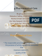 Marketing of p Harm Care