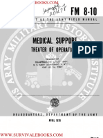 1970 US Army Vietnam War Medical Support Theater of Operations 137p