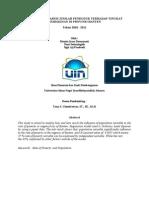 Analisis Pengaruh Jumlah  Penduduk terhadap tingkat kemiskinan di Provinsi Banten. Tahun 2010 - 2012