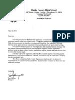 Adkins Letter