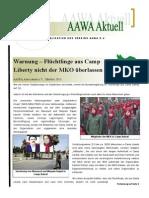 Aawa Aktuell Nr. 73 - Oktober 2013