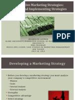 Marketing Strategy J Layman