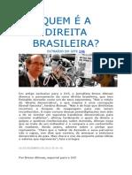 A azevediana direita brasileira