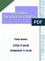 Ag-historia Da Igreja