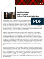 Donald McCallum Bio
