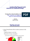 Flipflops Arvlsi2001 Slides