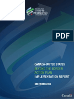 Canada-United States Beyond the Border Action Plan.  December 2013.