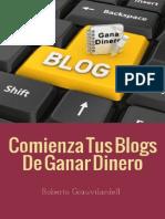 Blogs de Ganar Dinero Usando Blog
