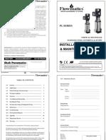 flowmatics vertical type multistage centrifugal pump