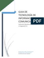 GUIA DE TECNOLOGÍA DE INFORMACION Y COMUNICACIÓN