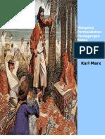 Karl Marx ; Mengenai Permasalahan Perdagangan Bebas