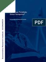Discussion Paper 06 - Optimisasi Portfolio