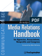 Media Relations Handbook Preview, by Brad Fitch