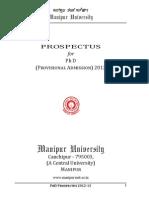 Prospectus Man Ipu i University