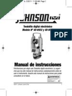 Manual Del Teodolito Espanish