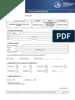 Ficha de Inscripción GPC 2013-II AREQUIPA