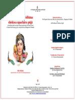 Sri Thiruppugal Vidhana Shodasa Upachara Puja