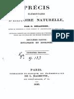 G.Delafosse  - Précis d'histoire naturelle
