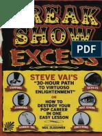 Steve Vai - 30hr Guitar Workout[COMPLETE]