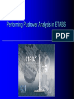 Performing Pushover Analysis in Etabs