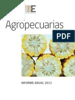 Agropecuarias Informe Anual 2012