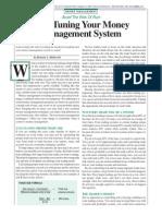 Fine Tuning Your Money Management II