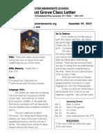 Newsletter 12 20