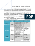 Principalii furnizori de soluţii ERP pe piaţa românească