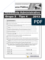 Assist Admin Tipo 4