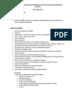 ESTRUTURA DA APRESENTAÇÃO DO SEMINÁRIO DE GESTAO DE RECURSOS PATRIMONIAIS E LOGISTICA