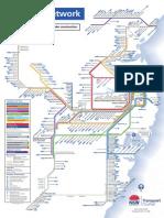 CityRail Network Map