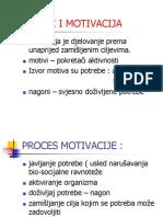 Motivi i Motivacija