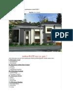 Cara Menghitung Anggaran Biaya Pembangunan Rumah PART 1