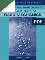 Fundamentals of Fluid Mechanics (Solutions Manual)