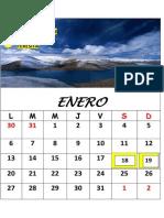 calendario termonado