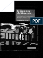 Somers Genealogies of Citizenship