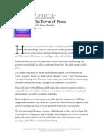 Power of Prana