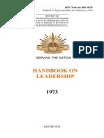 Handbook on Leadership