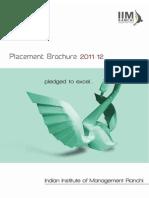 IIMR Brochure 2011