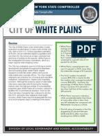 White Plains fiscal profile