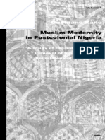 Ousmane Kane-Muslim Modernity in Postcolonial Nigeria_ a Study of the Society for the Removal and Reinstatement of Tradition (Islam in Africa, 1) (Islam in Africa, 1) (2003)