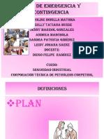 Plan de Emergencia y Contingencia 2