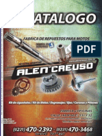 Catalogo repuestos de motos varias