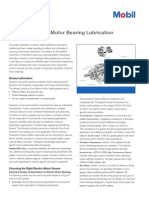 Guide to Electric Motor Bearing Lubrication