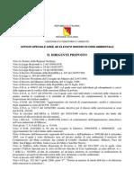Piano Aria Regione Sicilia Allegato Ddus n. 19 Del 5 Settembre 2006
